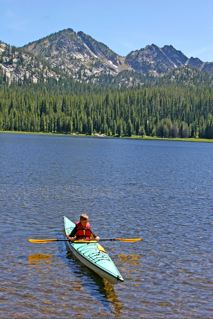 Kayaking in Eastern Oregon