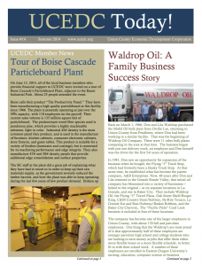 UCEDC Newsletter